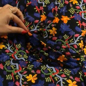 Zara Dresses - ❤️ Zara classic floral dress draped front NWT M